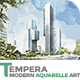 Tempera - Modern Aquarelle Art   PS Action - GraphicRiver Item for Sale