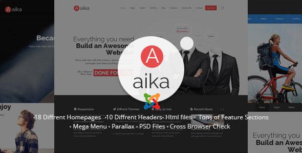 Aaika - Responsive Multipurpose Joomla Template