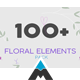 Floral Elements Pack - VideoHive Item for Sale
