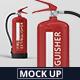 Fire Extinguisher Mockup - GraphicRiver Item for Sale