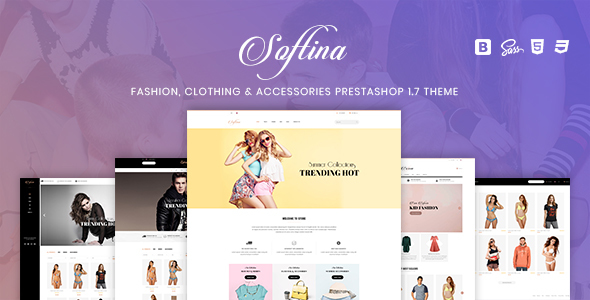 Softina - Fashion, Clothing & Accessories PrestaShop 1.7 Theme