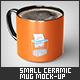 Small Ceramic Mug Mock-Up - GraphicRiver Item for Sale