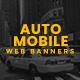 Automotive Web Banner Set - GraphicRiver Item for Sale