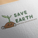 Save Earth Logo Design - GraphicRiver Item for Sale