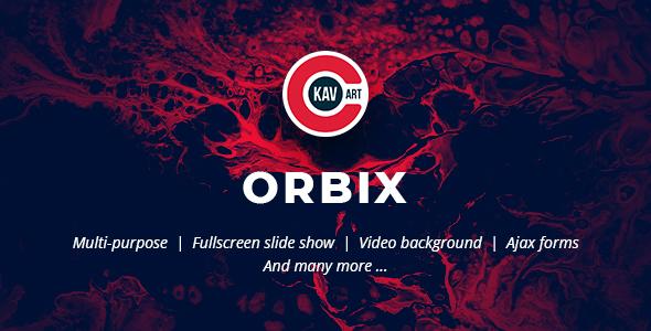 Orbix – Creative Multi-Purpose Template