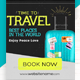 Travel Banner Ads - GraphicRiver Item for Sale