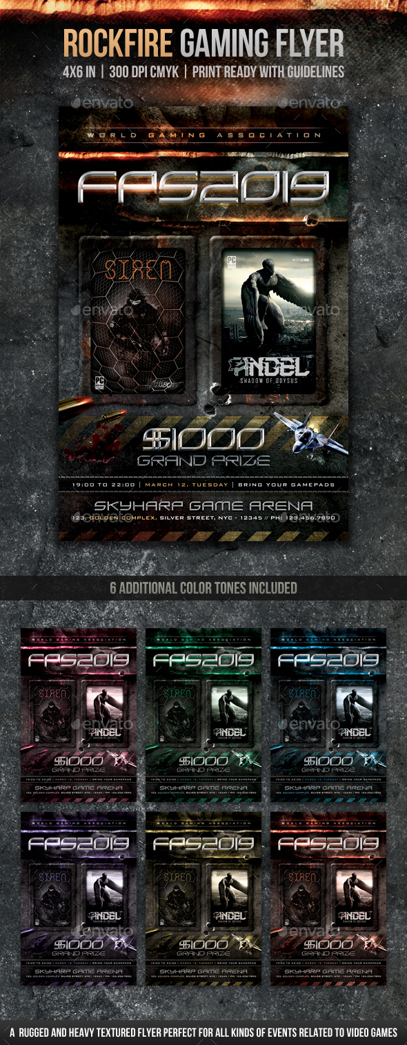 Video-game Graphics, Designs & Templates from GraphicRiver