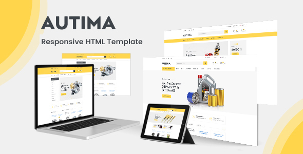Autima - Car Accessories Shop HTML Template