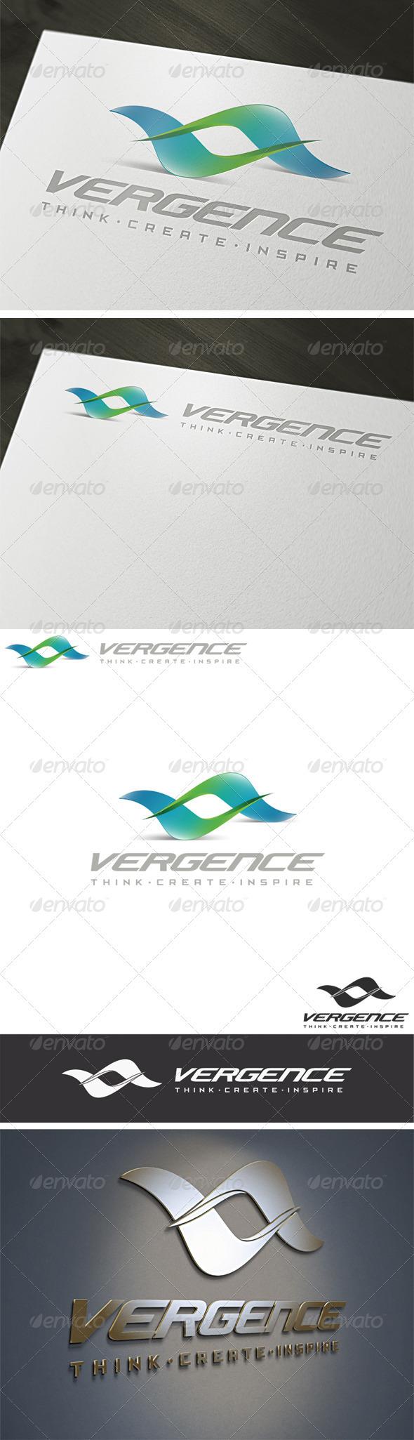 3D Vergence Logo Template