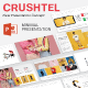 Crushtel Multipurpose Presentation Template - GraphicRiver Item for Sale