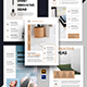 5 Minimalist Corporate Flyer Template - GraphicRiver Item for Sale