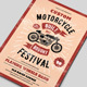 Custom Motorcycle Festival Flyers Template - GraphicRiver Item for Sale