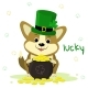 St. Patrick s Day Dog - GraphicRiver Item for Sale