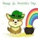 St. Patricks Day Dog - GraphicRiver Item for Sale