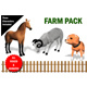 Farm Animals Pack Fully RIgged and Animated - 3DOcean Item for Sale