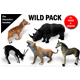 Wild Animals Pack 3D model Rigged and Animated - 3DOcean Item for Sale
