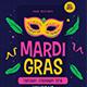 Mardigras Event Flyer - GraphicRiver Item for Sale