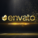 Gold Particles Logo - VideoHive Item for Sale