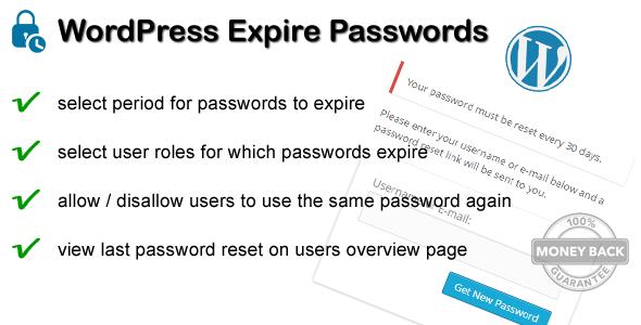 WordPress Expire Passwords