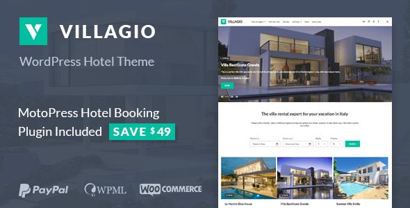 Vacation Rental WordPress Theme - Villagio