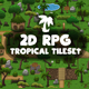 RPG Tropical Tileset - GraphicRiver Item for Sale