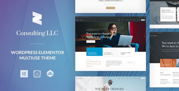 Zayne | Corporate Business WordPress Theme for Elementor