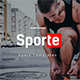 Sporte - Sport Google Slides Template - GraphicRiver Item for Sale