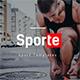 Sporte - Sport Keynote Template - GraphicRiver Item for Sale