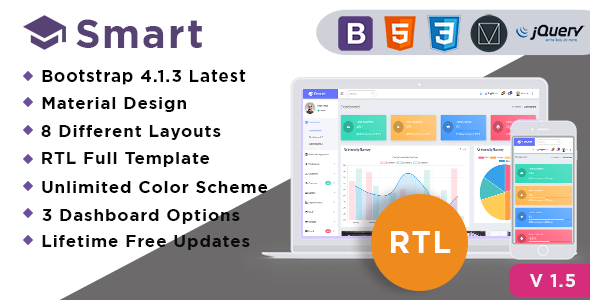 HTML Admin Website Templates from ThemeForest (Page 11)