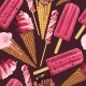 Seamless Pattern with Ice Cream and Ice Pop - GraphicRiver Item for Sale