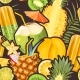 Cocktail and Exotic Fruits Vector Seamless Pattern - GraphicRiver Item for Sale