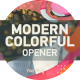Modern Colorful Opener - VideoHive Item for Sale