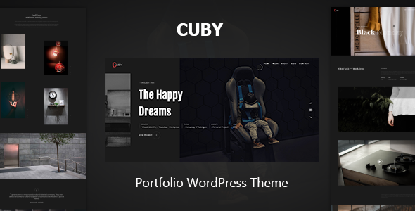 Cuby - Portfolio WordPress Theme