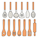 Set of Kitchen Utensils - GraphicRiver Item for Sale
