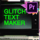 70 Glitch Title Animation Presets Pack For Premiere Pro   MOGRT - VideoHive Item for Sale
