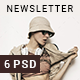 Pro Multipurpose Newsletter Template - GraphicRiver Item for Sale