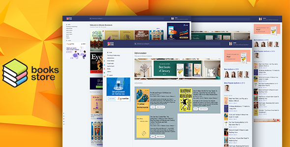BBook - BookStore Script System with website