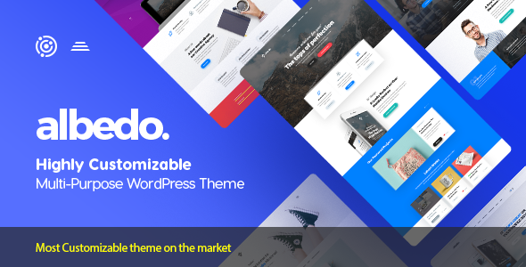 Albedo - Highly Customizable Multi-Purpose WordPress Theme