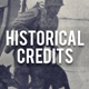 Historical Credits - VideoHive Item for Sale