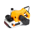 yellow electric sander isolated on a white background - PhotoDune Item for Sale
