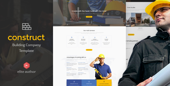 Construct - Construction & Building Joomla Template