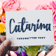 Catarina - a Handwritten Font - GraphicRiver Item for Sale
