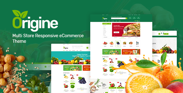 Origine - Organic Theme for WooCommerce WordPress