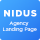 Nidus - Agency HTML Template - ThemeForest Item for Sale