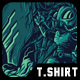 Gamer Remastered T-Shirt Design - GraphicRiver Item for Sale