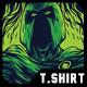 Super Spartan Remastered T-Shirt Design - GraphicRiver Item for Sale