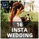 16 Insta Wedding Lightroom Presets - GraphicRiver Item for Sale