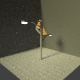 Street Lamp Low-Poly - 3DOcean Item for Sale