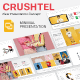 Crushtel Google Slide Presentation Template - GraphicRiver Item for Sale