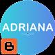 Adriana - An Elegant Responsive Blogger Theme - ThemeForest Item for Sale